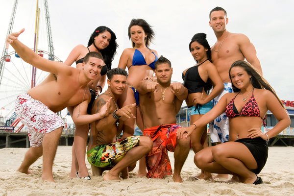 The cast of Jersey Shore reunites to raise money for Hurricane Sandy